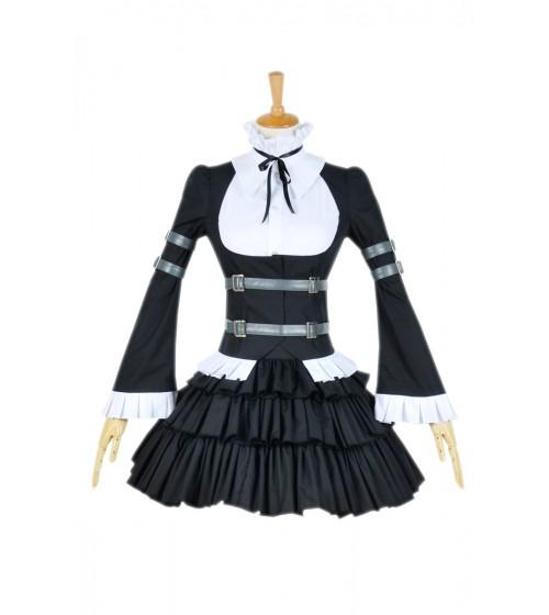 Fairy Tail Cosplay Elsa Scarlett Fasching Kostüme Lolita Maidkleid