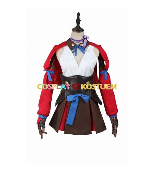 Kabaneri of the Iron Fortress Mumei Cosplay Kostüm oder Kleidung
