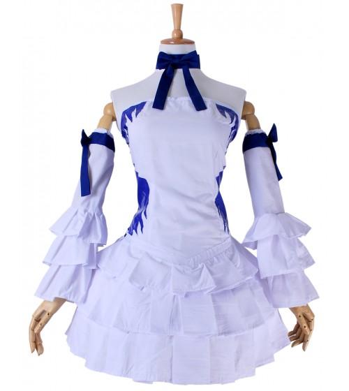 Fairy Tail Lucy Heartfilia Weiß Kleid