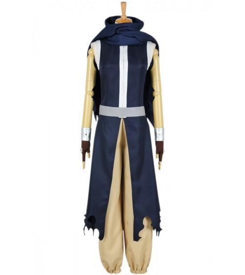 Fairy Tail Cosplay Gajeel Redfox Fasching Combat Uniform