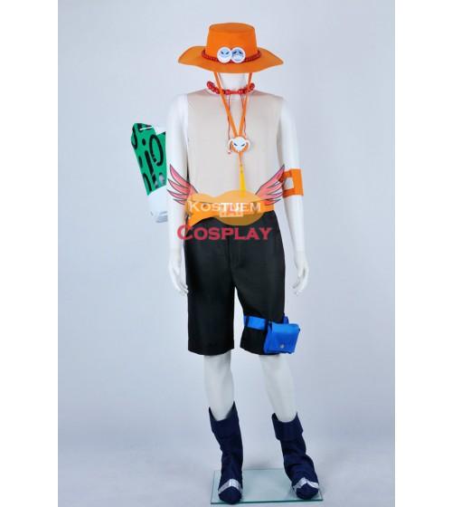 One Piece Portgas D. Ace Uniform