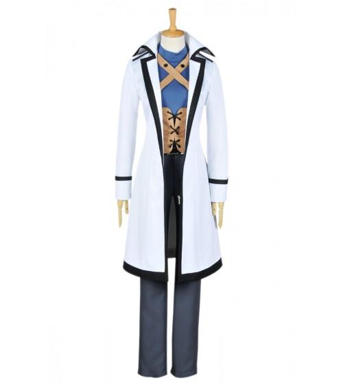 Fairy Tail Cosplay Gray Fullbuster Karneval Kostüme Weiß Uniform
