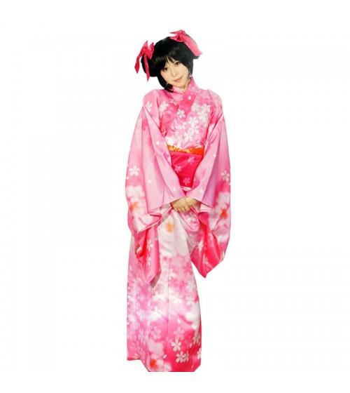 Love Live Cosplay Nico Yazawa Kimono
