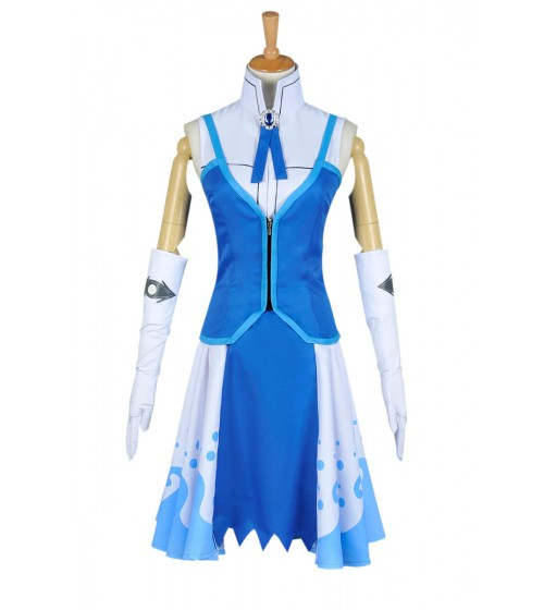 Fairy Tail Juvia Lockser Blau Uniform